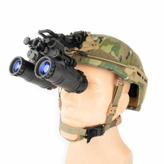 BNVD-SG UL Ultralight Standard Gain Night Vision Binocular Helmet Mounted