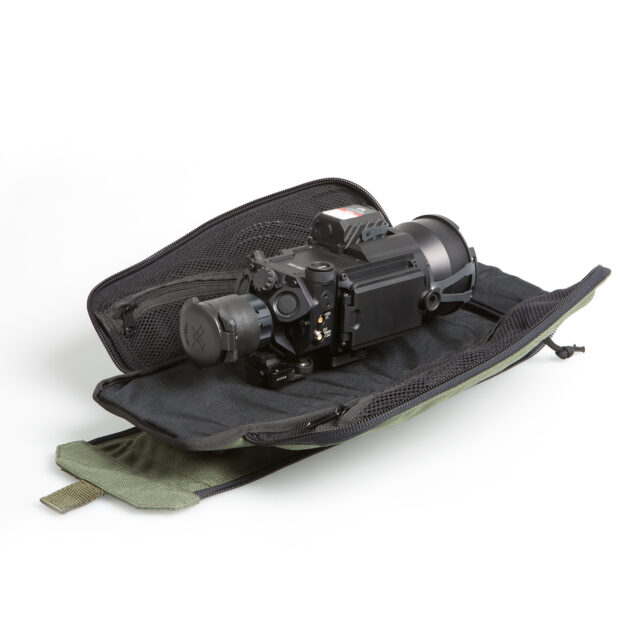 S100U SWIR Weapon Sight Mounted on Carry Case